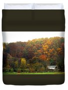 Fall At Valley Forge Duvet Cover