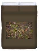 Fall Background Duvet Cover