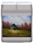 Fall Begins Duvet Cover