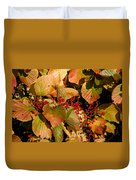 Fall Berries Duvet Cover