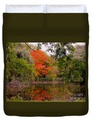 Fall In The Park Duvet Cover