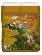 Fall Canopy Duvet Cover