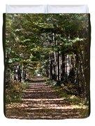 Fall Cedars Duvet Cover