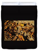 Fall Cleanup Duvet Cover