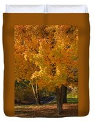 Fall Colors Duvet Cover by Adam Romanowicz