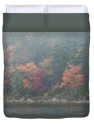 Fall Colors In Acadia National Park Maine Img 6483 Duvet Cover