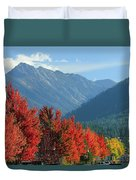 Fall Colors In Joseph Or Duvet Cover