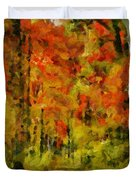 Fall Colors In Ohio Duvet Cover