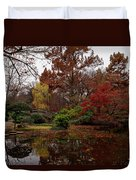 Fall Colors In The Garden Duvet Cover