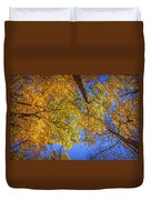 Fall Colors In The Sky  Duvet Cover