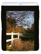 Fall Comes To The Hollow Duvet Cover