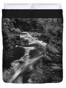 Fall Creek Flow II Duvet Cover