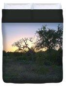 Cedar Park Texas Fall Creek Sunset Duvet Cover