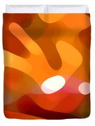 Fall Day Duvet Cover by Amy Vangsgard