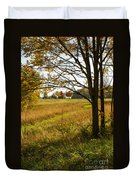 Fall Day In The Ozarks Duvet Cover