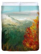 Fall Day Too Duvet Cover
