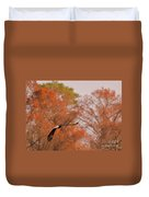 Fall Eagle Duvet Cover