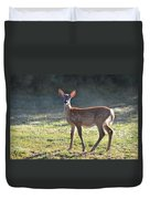 Fall Fawn Duvet Cover