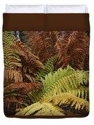 Fall Ferns Acadia National Park Img 6355 Duvet Cover