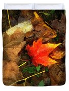 Fall Flames Out Duvet Cover