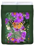 Fall Flutterby Duvet Cover