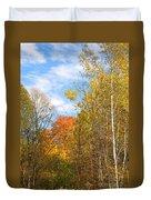 Fall Forest Duvet Cover