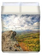 Fall From The Blowing Rock Duvet Cover
