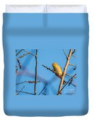Fall Goldfinch Duvet Cover