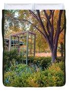 Fall Herb Garden0981 Duvet Cover