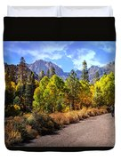 Fall Hiking In The High Sierras Duvet Cover