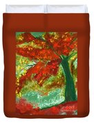 Fall Impression By Jrr Duvet Cover