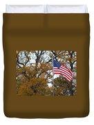 Fall In America Duvet Cover