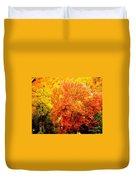 Fall In Full Bloom Duvet Cover
