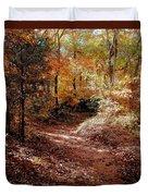 Fall In Johnston County Duvet Cover