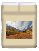 Fall In Lundy Canyon Duvet Cover