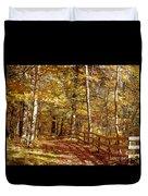 Fall In Michigan Duvet Cover