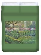 Fall In Monet's Garden Duvet Cover