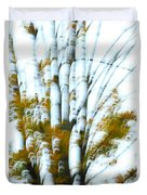 Fall In Motion Duvet Cover