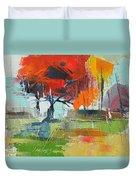 Fall In Sharonwood Park 2 Duvet Cover