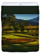 Fall In The Fields Duvet Cover