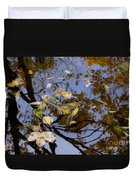 Fall In The Lake In Vienna No. 1 Duvet Cover