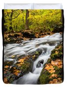 Fall In The Poconos Duvet Cover