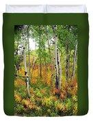 Fall In The Tetons Duvet Cover