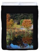 Fall In The Wetlands Duvet Cover