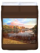 Fall In Traverse City  Duvet Cover