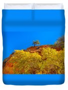 Fall In Zion Duvet Cover
