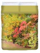 Fall Landscape 3 Duvet Cover