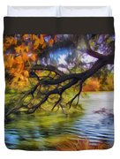 Fall Landscape 4 Duvet Cover