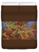 Fall Leaves In So Cal Duvet Cover
