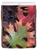 Fall Leaves I V Duvet Cover
